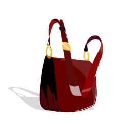 fashion_02红色包矢量图
