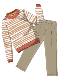 fashion_05休闲衣着矢量图