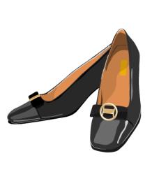 fashion_09高跟鞋矢量图