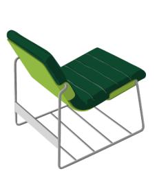 furniture_04靠椅矢量图
