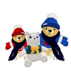 life_03三只玩具熊矢量图