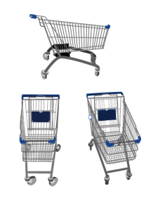 shopping_01不同角度的购物车