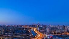 北京城爬楼俯瞰