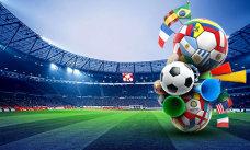 足球运动会海报