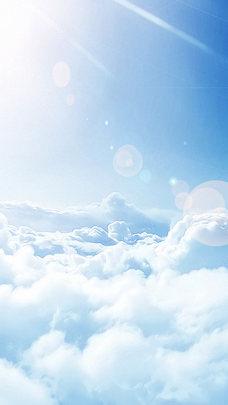 H5背景蓝天白云