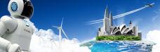 新能源背景