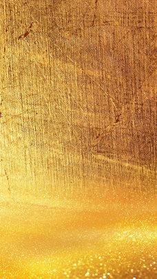 金色金属质感材质H5背景素材