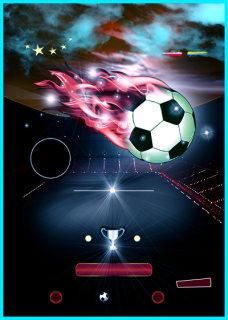 激情足球比赛深蓝色背景素材
