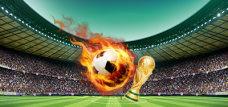畅游世界杯2018年足球banner
